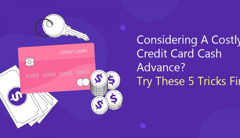 Costly credit card cash advances