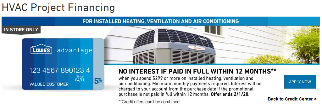 HVAC Project Financing