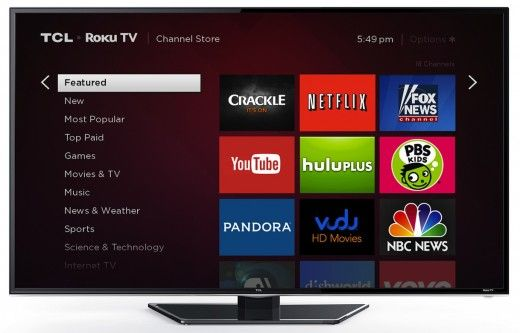 Simplest of them all- go for a free TV streaming app or site