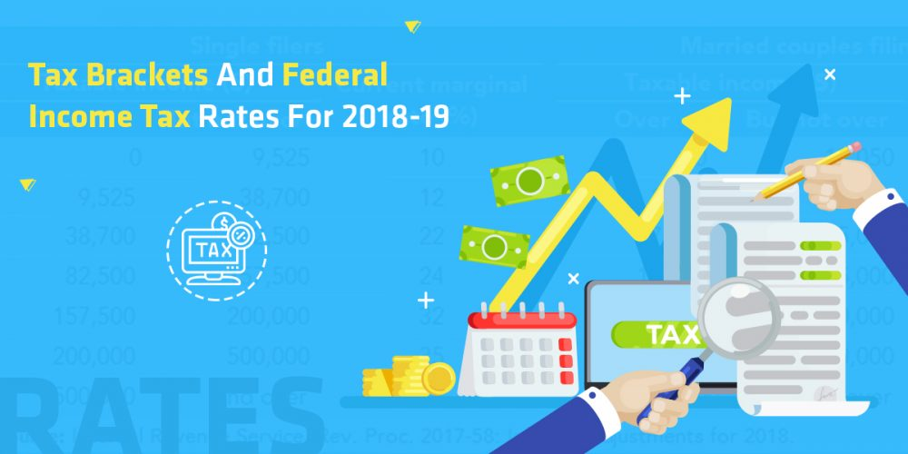 Tax Brackets and Federal Income Tax Rates for 2018-19