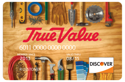 True Value Discover credit card