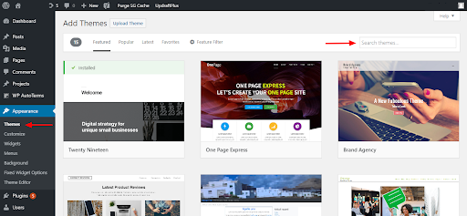 Wordpress-Add-theme