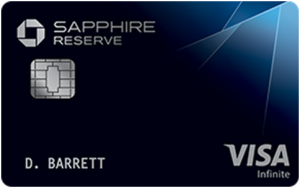 . Chase Sapphire Reserve Card