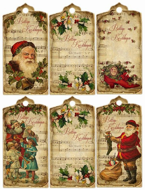 Christmas Old-fashioned scrapbook