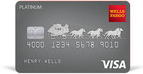 Wells Fargo Platinum Visa Card