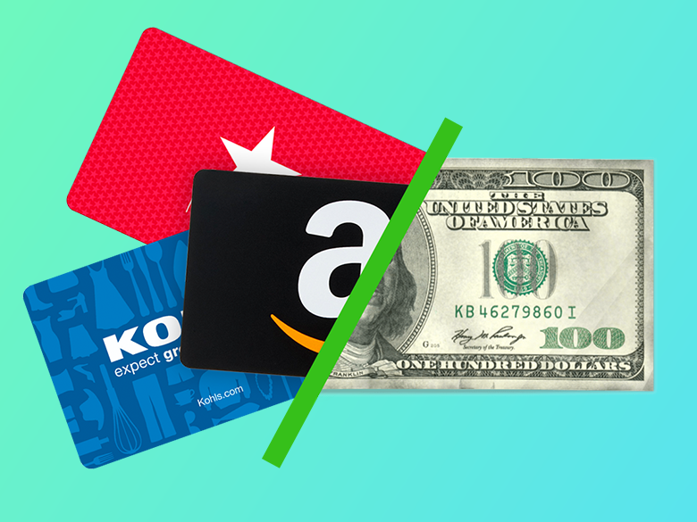 advance cash for gift cards