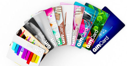 Gift Cards With a Credit Card