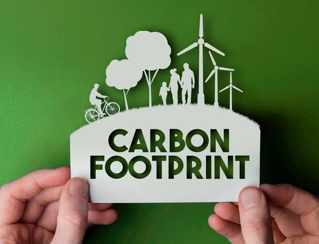 Reduction in your carbon footprint