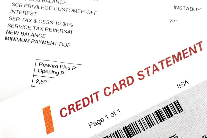 Reviewing The Credit Card Activity Or The Transactions