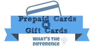 Gift Cards vs Prepaid Cards