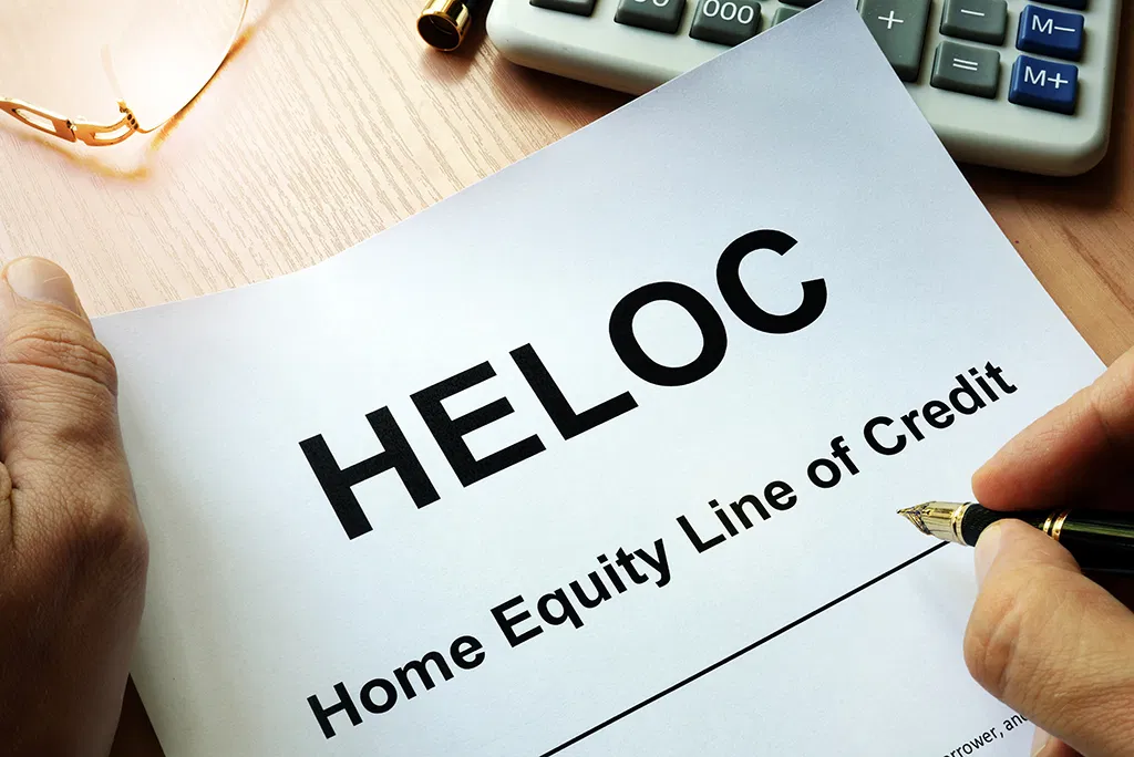Apply for HELOC
